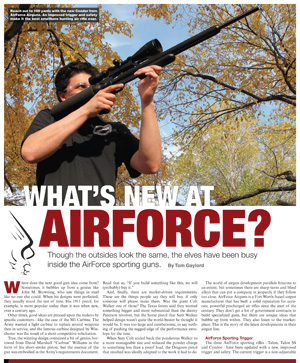 What's New at AirForce by Tom Gaylord
