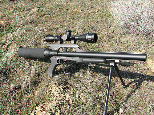 how to adjust open sights air rifle