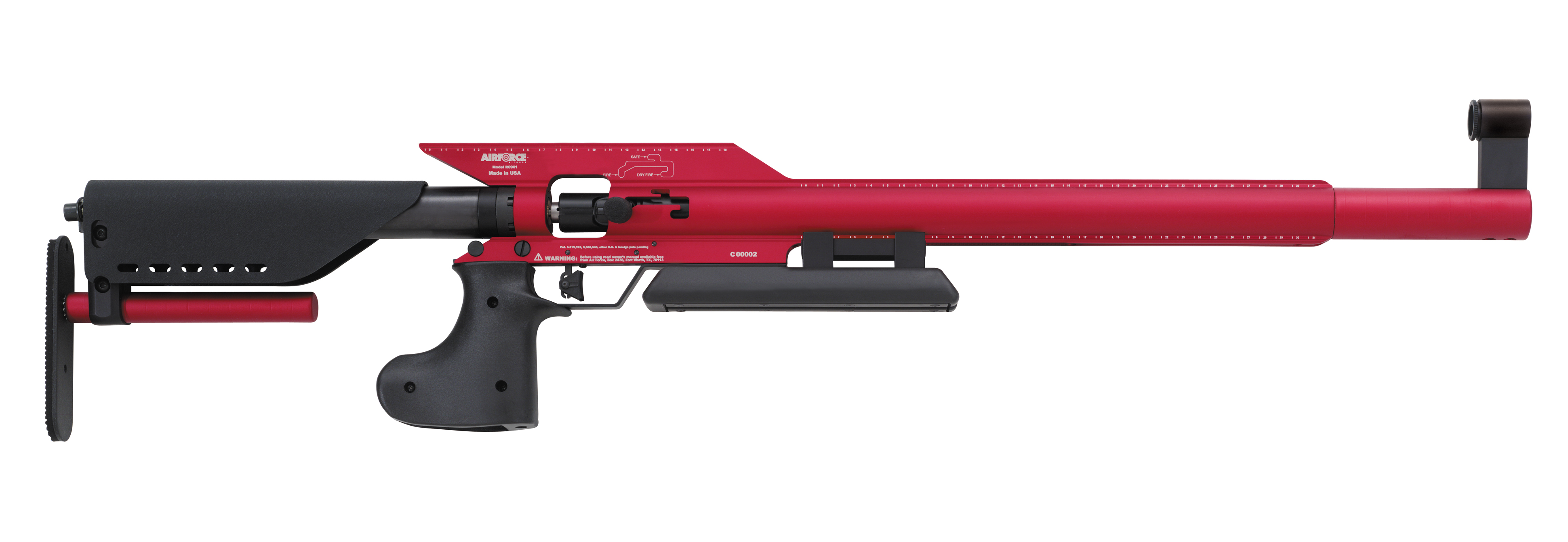 AirForce Edge, 3-Position Sporter Class Air Rifle.