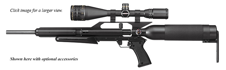 Lightweight with target-grade accuracy for many shooting applications.
