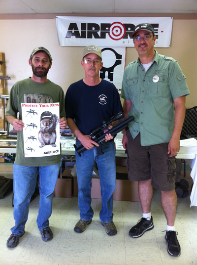 TalonP Winner at the Airgun Extravaganza show