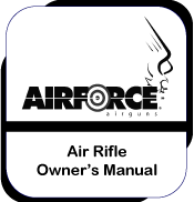 Air Rifle Owner's Manual for Condor, Talon and TalonSS