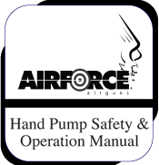 Hand Pump Owner's Manual