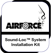 Sound-Loc Airgun Noise Reduction System Installation Kit