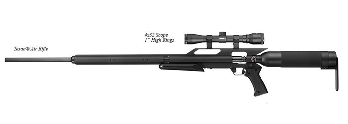 AirForce Airguns - Texan w/Scope and Rings