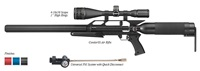 "AirForce Airguns Condor SS w/4-16X50 Scope, 1"" High Rings, and Universal Refill Clamp w/Quick Disconnect"