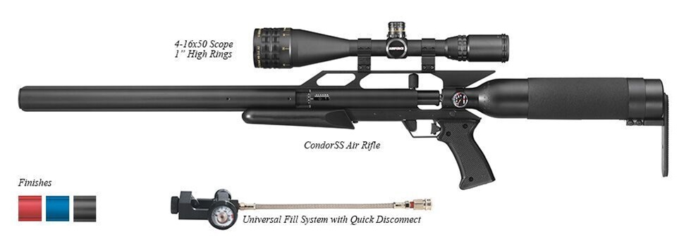 AirForce Airguns - CondorSS Shooting Kits - AirForceAirguns com