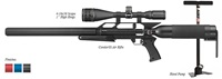 "AirForce Airguns Condor SS w/ Hand Pump, 4-16X50 Scope, 1"" High Rings"