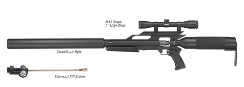 AirForce-Airguns-TexanSS-w/Universal Fill System