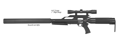 AirForce-Airguns-TexanSS- w/Scope and Rings