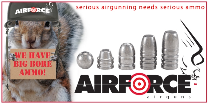 AirForce Airguns -Big-Bore-Ammo- Made In The USA - AirForceAirguns.com